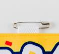 布テープ+ピン付き