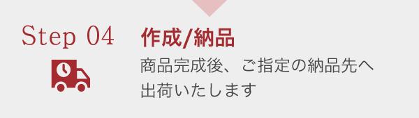 作成/納品